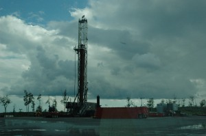 Another fracking site
