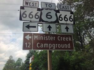 Sign for the Devil's Highway